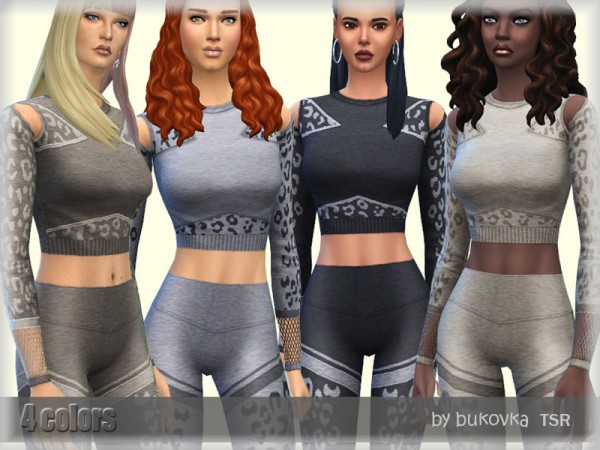 The Sims Resource: Shirt Leopard by bukovka