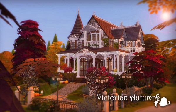 Ruby`s Home Design: Victorian Autumn House   No CC