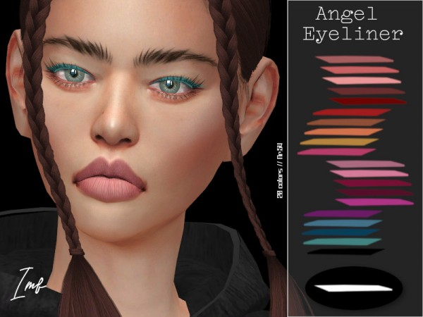 The Sims Resource: Angel Eyeliner N.54 by IzzieMcFire