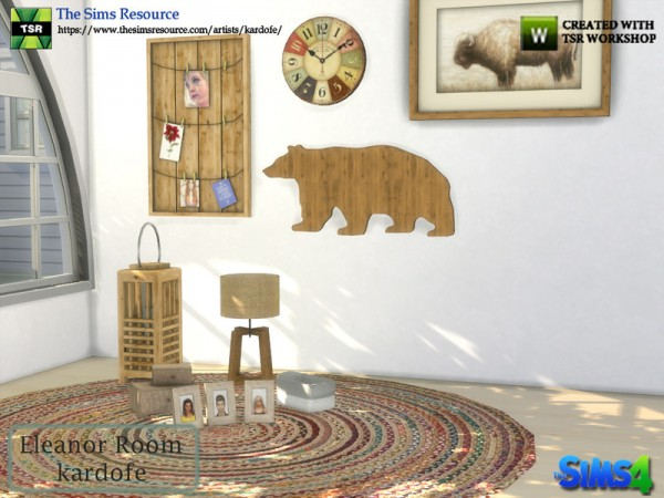The Sims Resource: Eleanor Room Decorations by Kardofe