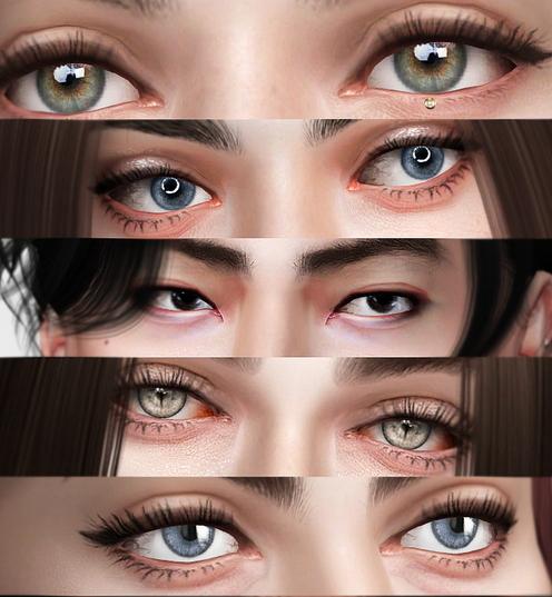 Praline Sims: Eyes 232