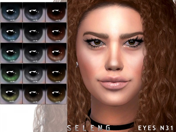 The Sims Resource: Eyes N31 by Seleng