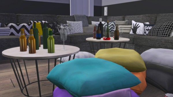 Models Sims 4: Gaming and theater room