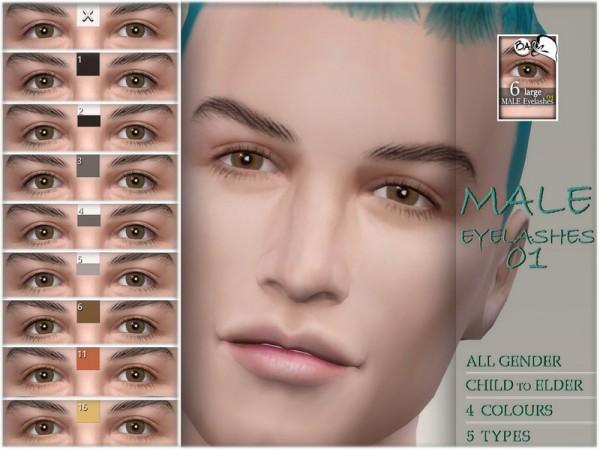 The Sims Resource: Eyelashes 01 by BAkalia