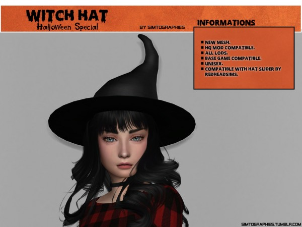 Simtographies: Witch hat
