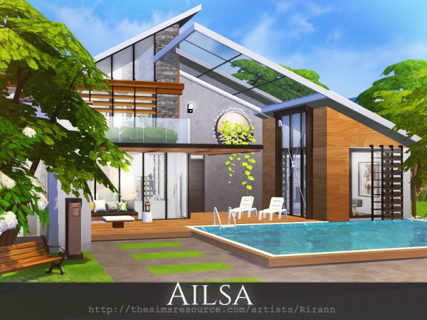 The Sims Resource: Ailsa House by Rirann