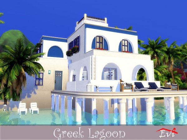 The Sims Resource: Greek Lagoon by evi