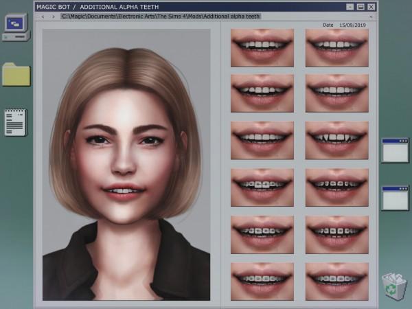 Magic Bot: Additional alpha teeth