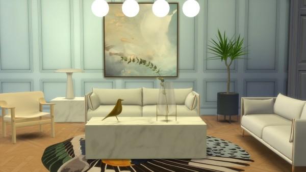 Meinkatz Creations: Silhouette sofa