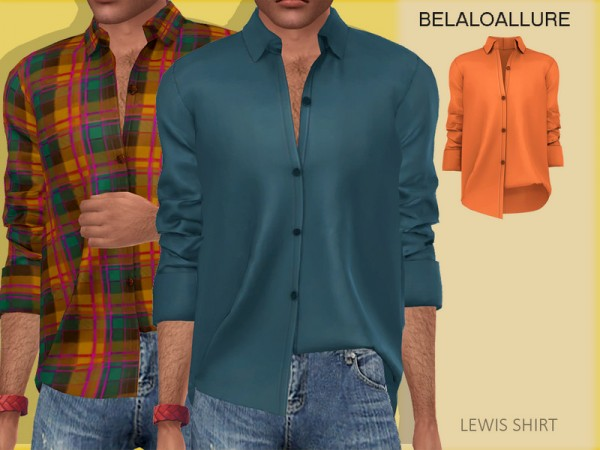 The Sims Resource: Lewis shirt bybelal1997
