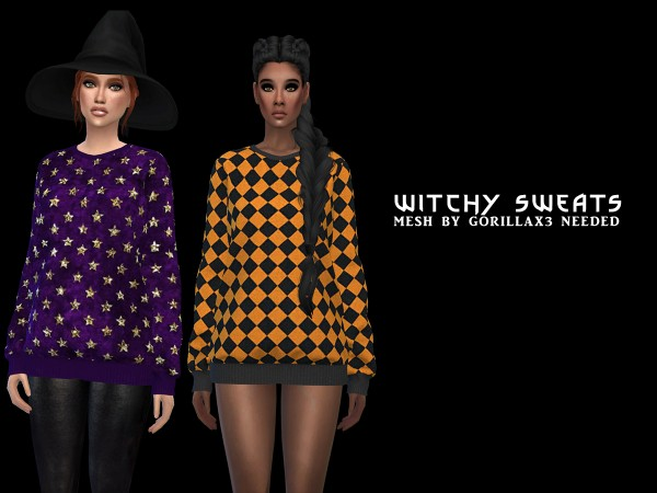 Leo 4 Sims: Witchy Sweats