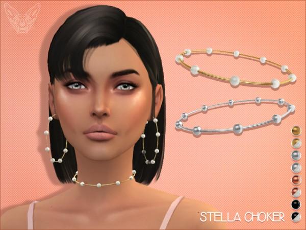 Giulietta Sims: Stella Choker