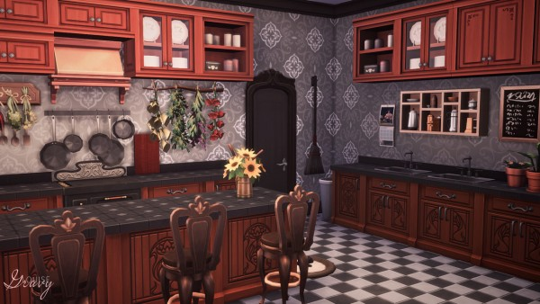 Gravy Sims: Spellcaster's House | Rebuilding Glimmerbrook