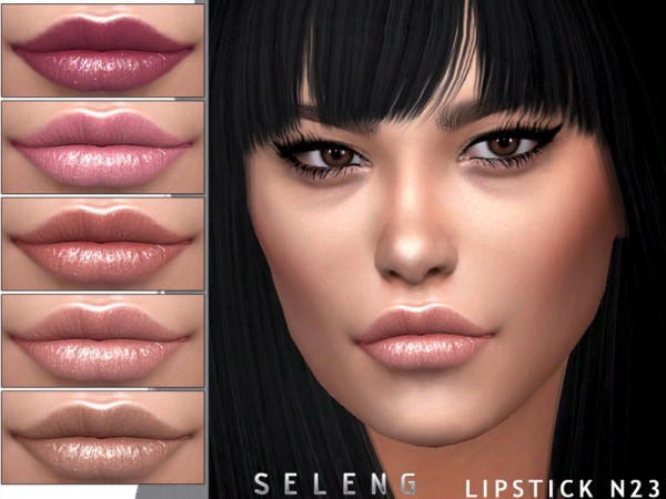 The Sims Resource: Lipstick N23 by Seleng