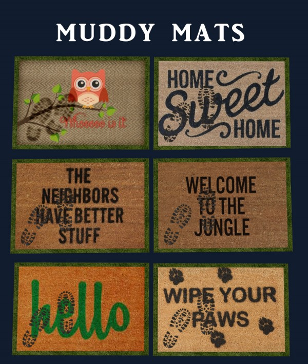 Leo 4 Sims: Muddy Mats