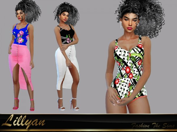 The Sims Resource: Bodysuit Carol by LYLLYAN