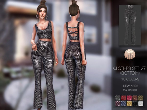 The Sims Resource: Clothes SET 27 Bottom by busra tr