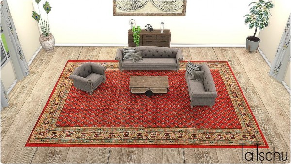 Blooming Rosy: Classic Rug Collection