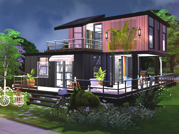 The Sims Resource: Tyrell House by Rirann
