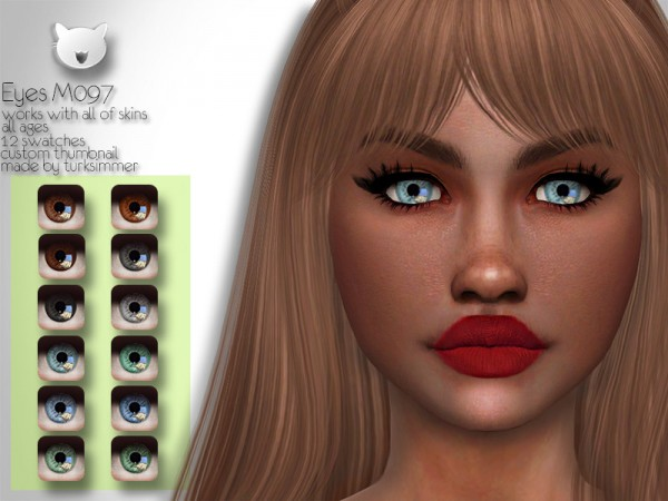 The Sims Resource: Eyes M097 by turksimmer