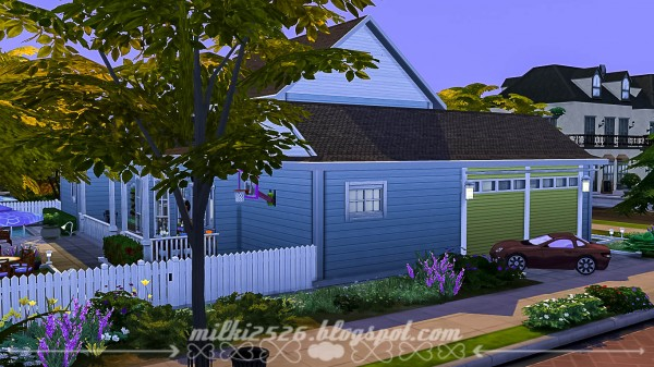 Milki2526: Big family house   No CC