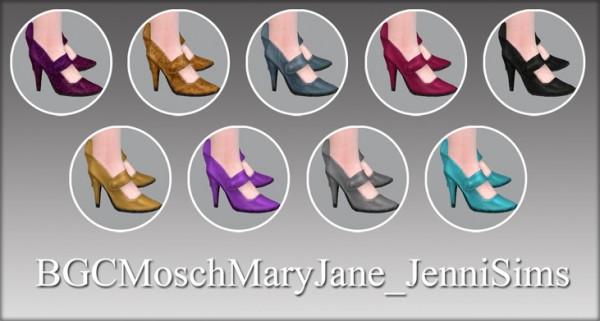Jenni Sims: Shoes Mary Jane