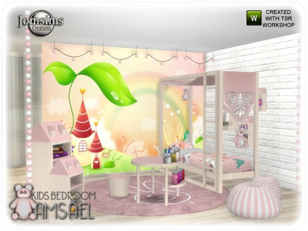 The Sims Resource: Amsael kids bedroom by jomsims