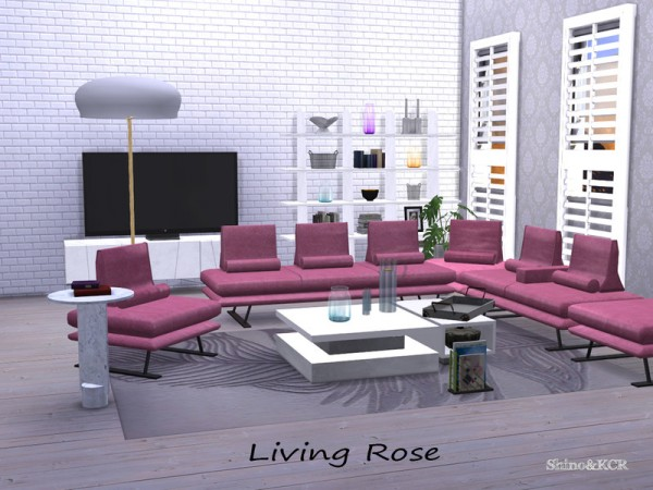 The Sims Resource: Living Rose by ShinoKCR