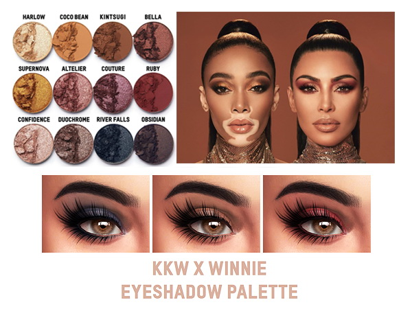 Kenzar Sims: Winnie palette