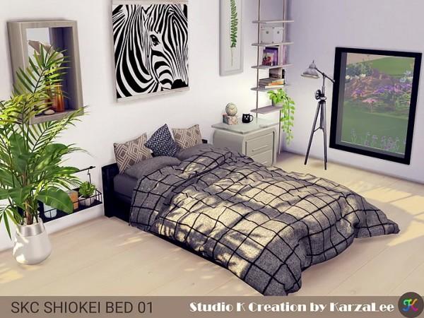 Studio K Creation: Shiokei Bed 01