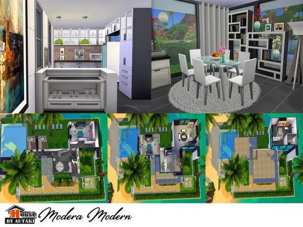 The Sims Resource: Modera Modern house by Autaki