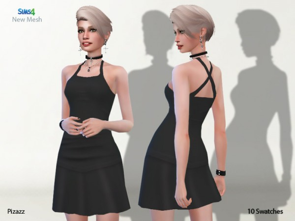 The Sims Resource: Club Dress by pizazz