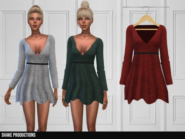 The Sims Resource: 313 Dress by ShakeProductions