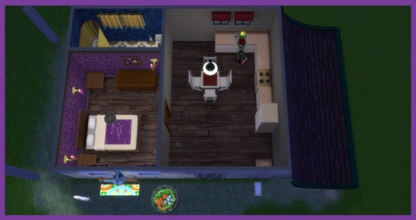 Blackys Sims 4 Zoo: Hexen starter house by Kosmopolit