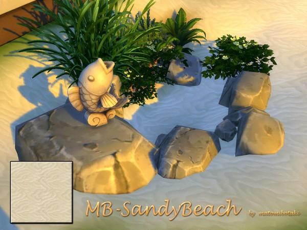 The Sims Resource: Sandy Beach by matomibotaki