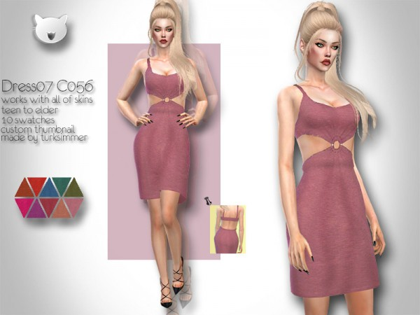 The Sims Resource: Dress 07 C056 by turksimmer