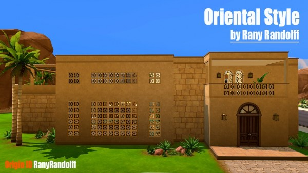 Ihelen Sims: Oriental Style House by Rany Randolff