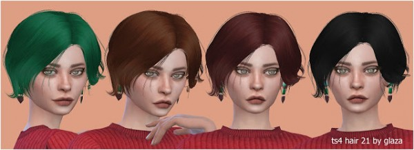 All by Glaza: Hair 21