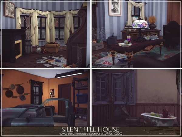 The Sims Resource: Silent Hill House by MychQQQ