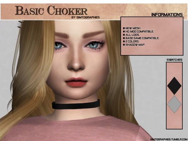 Simtographies: Basic Choker