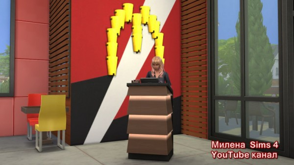 Sims 3 by Mulena: MC DONALDS