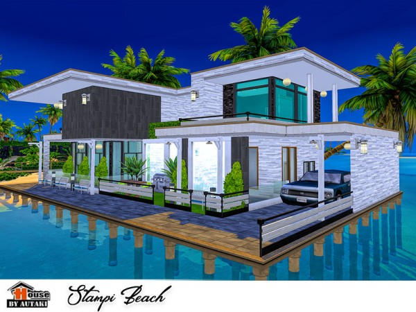 The Sims Resource: Stampi Beach house by Autaki
