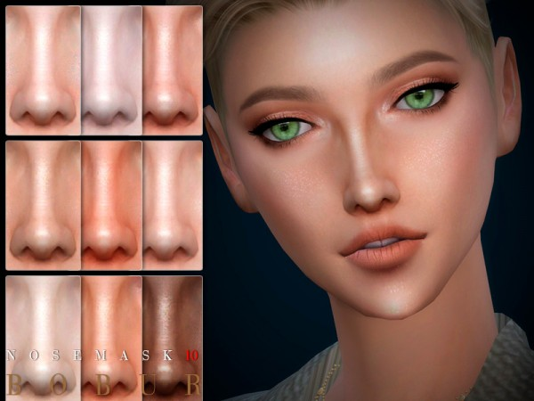 The Sims Resource: Nose 10 by Bobur3