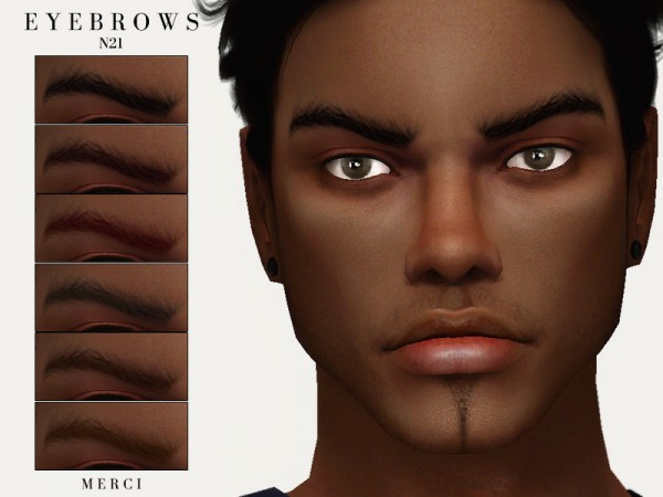 The Sims Resource: Eyebrows N21 by Merci