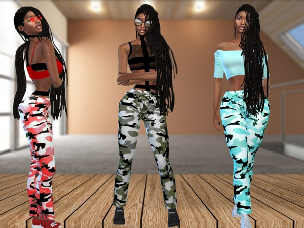 The Sims Resource: Harems Pants by Teenageeaglerunner