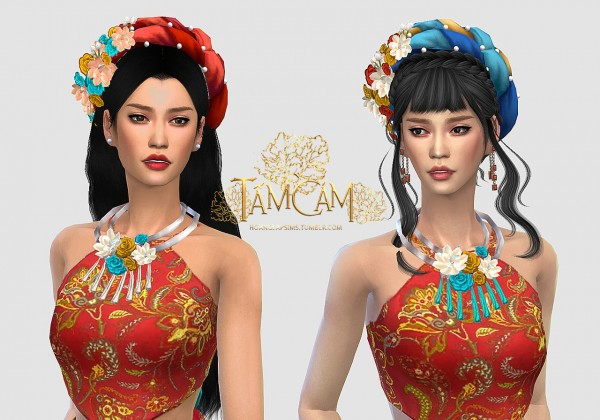 Hoanglap Sims: Vietnamese traditional clothes