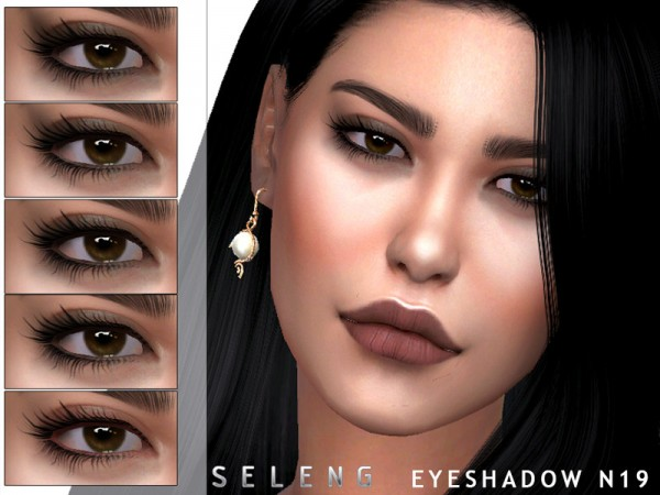 The Sims Resource: Eyeshadow N19 by Seleng