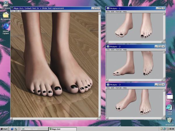 Magic Bot: Default Feet 5V