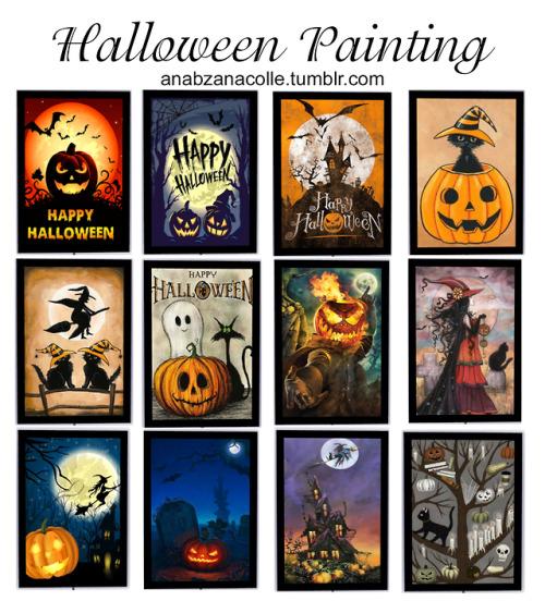 Ana Zanacolle: Halloween Painting