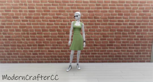 Modern Crafter: Dress Mid Recolour